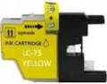Brother LC75 Yellow High Yield Ink Cartridge (High Yield version of Brother LC71)
