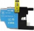 Brother LC75 Cyan High Yield Ink Cartridge (High Yield version of Brother LC71)